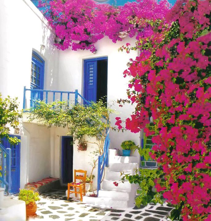 Χρώματα - Greek Colors - House on the Aegean Sea